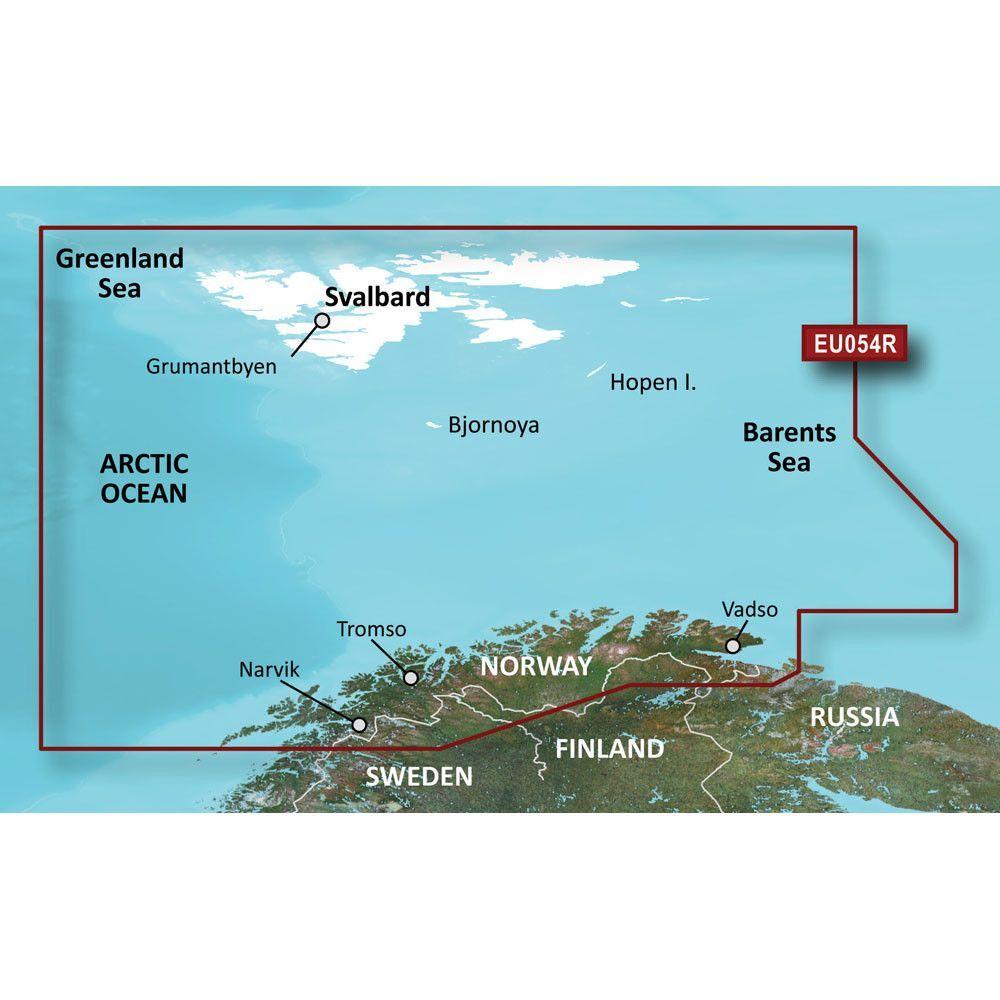 Garmin BlueChart® g2 Vision® HD - VEU054R - Vestfjd-Svalbard-Varanger - microSD™/SD™
