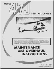 bell helicopter 47 j overhaul and maintenance manual 1965 rh pinterest com bell helicopter textron maintenance manuals bell 212 helicopter maintenance manual