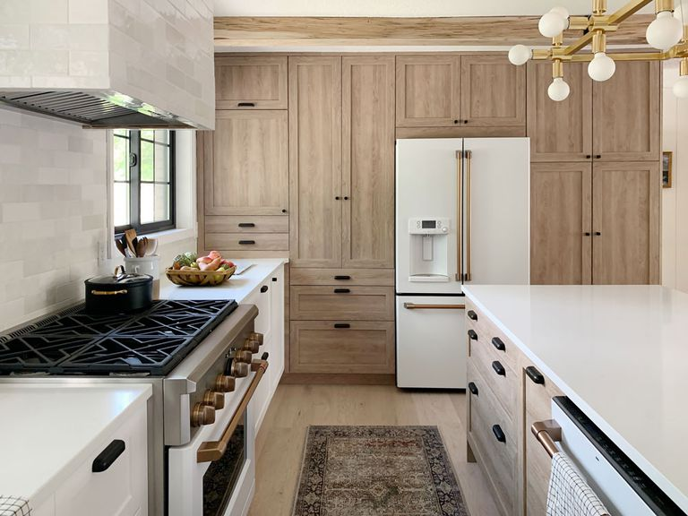 You'll Never Believe This Is an IKEA Kitchen - Ikea kitchen, Kitchen renovation, Kitchen cabinets, Functional kitchen, Ikea cabinets, Kitchen - Chris Loves Julia, and we love this kitchen