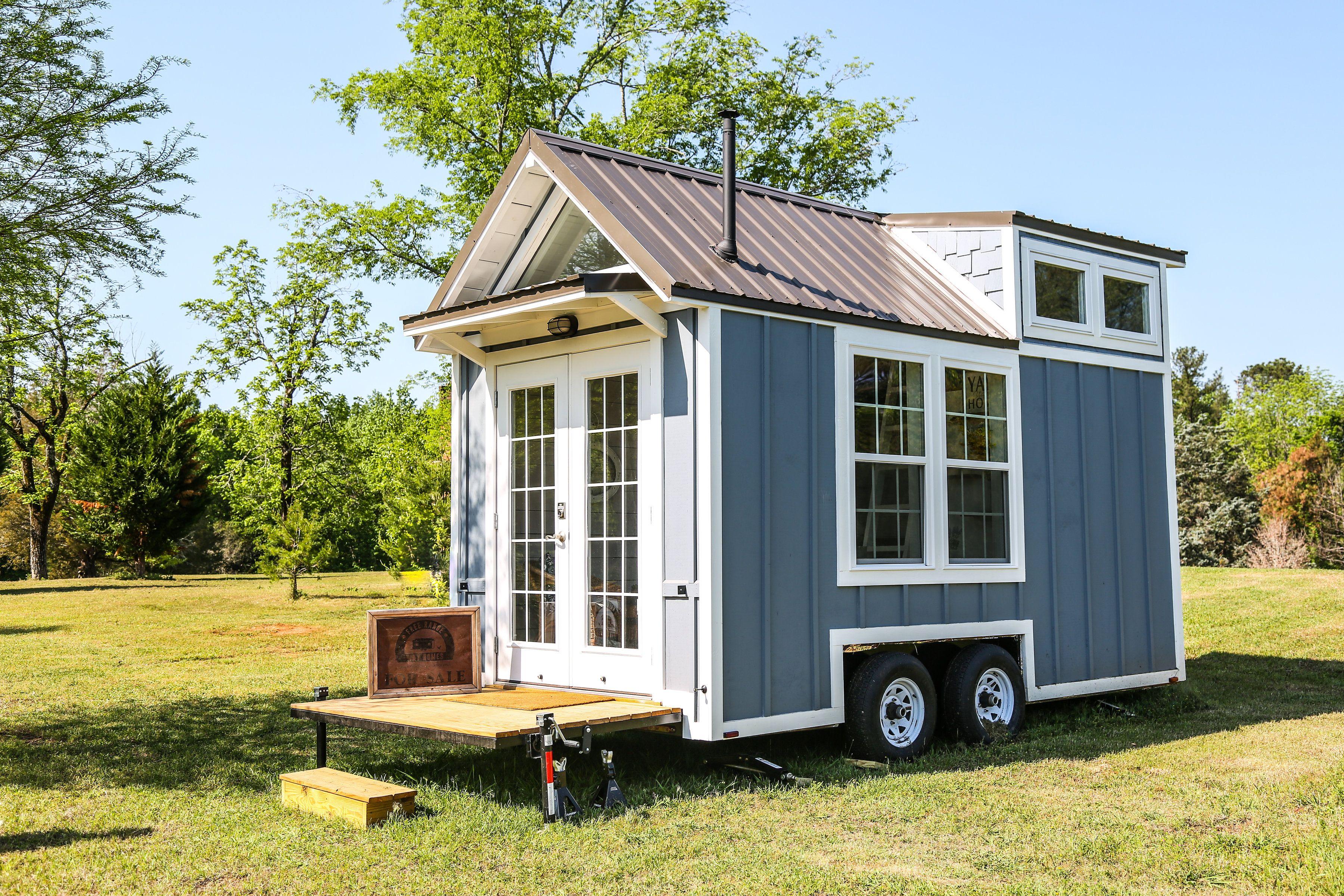 Free Range 16ft Custom Cottage Tiny House For Sale In Eatonton