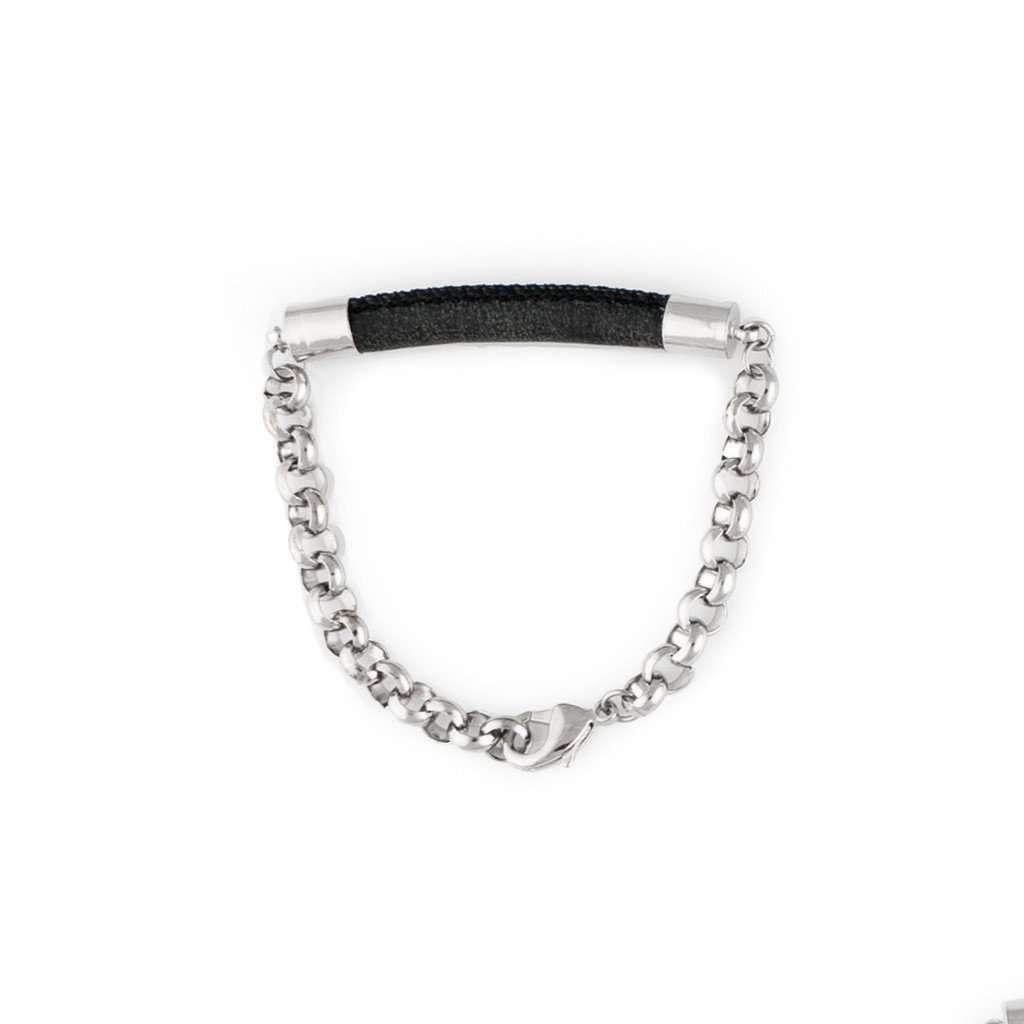 Hera Bracelet - Black/Silver