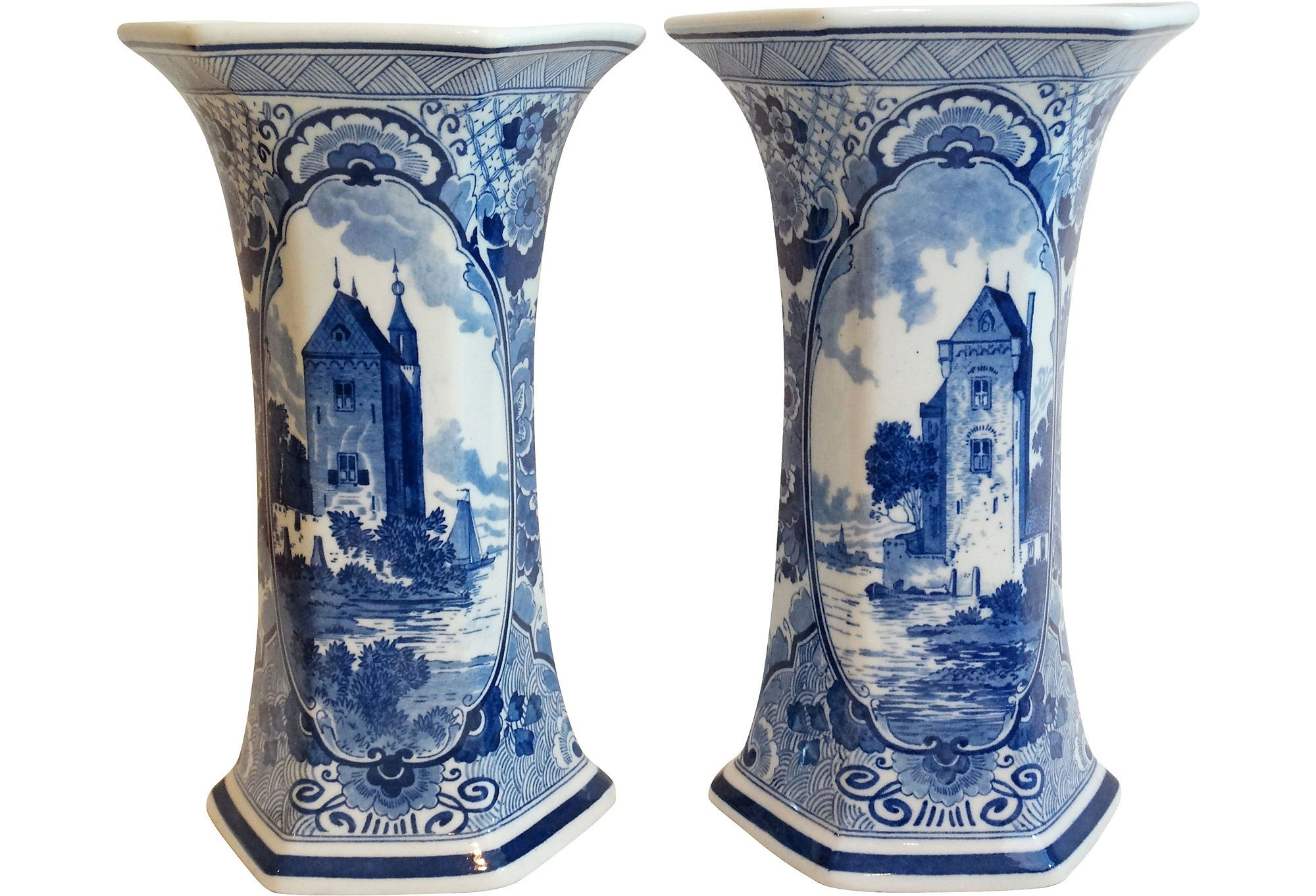 Pair of large continental vases c 1920 living room pair of large continental vases c 1920 reviewsmspy