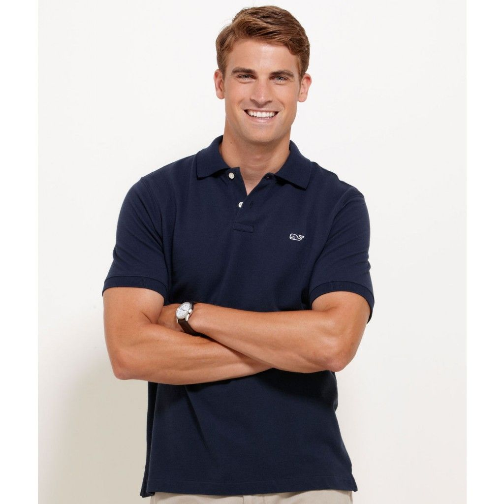 Classic Polo in Vineyard Navy by Vineyard Vines, Featuring ...
