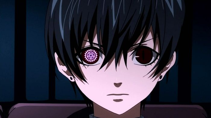 Anime Characters Eyes : Top anime characters with mismatched eyes ciel