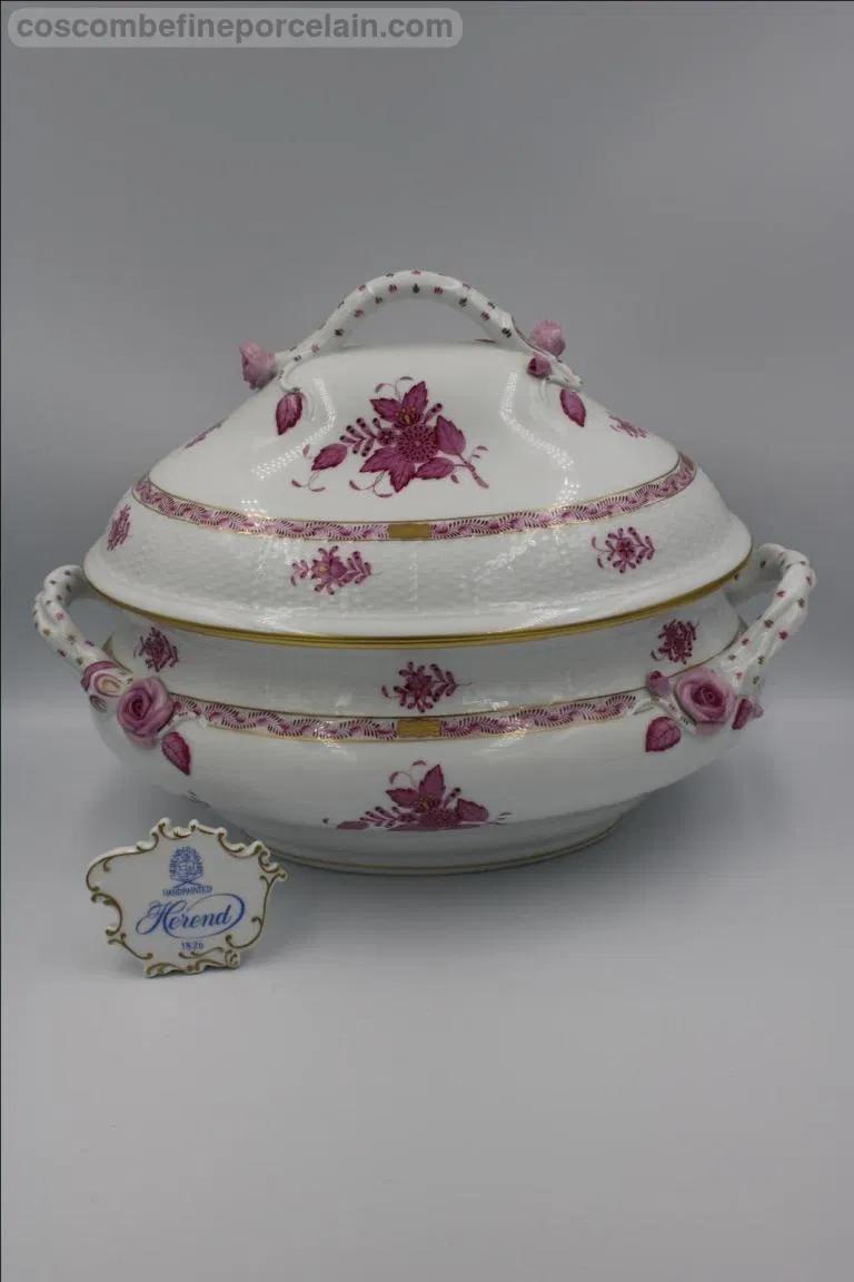 Herend Apponyi Tureen Porcelain Tableware At Coscombe In 2020 Tureen Herend Porcelain Tableware