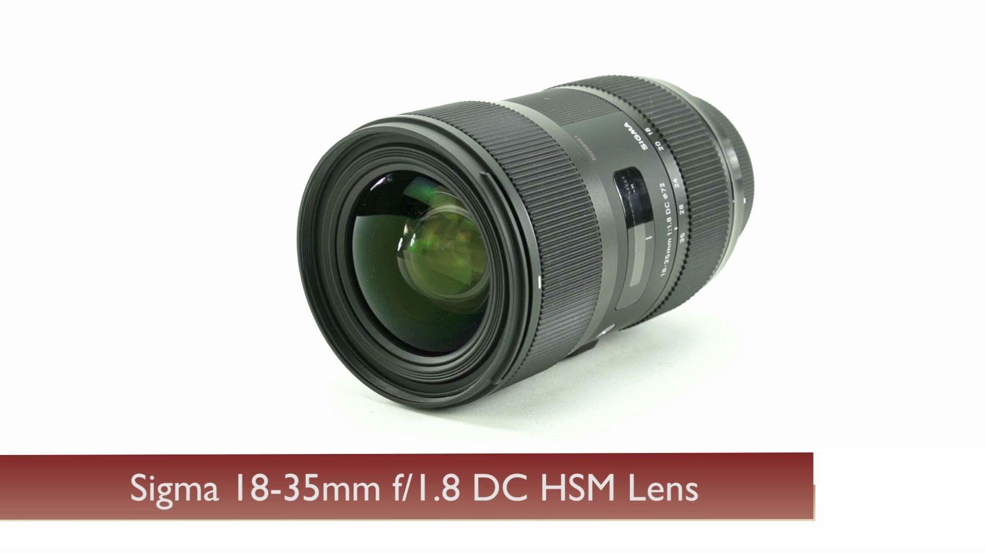 Sigma 18 35mm F 1 8 Dc Hsm Lens F 1 Lens 35mm