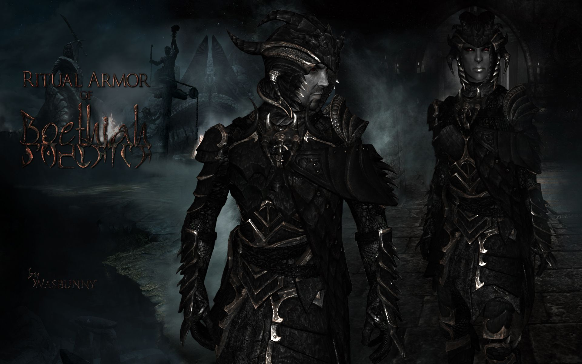 Ritual Armor of Boethiah at Skyrim Nexus - mods and community