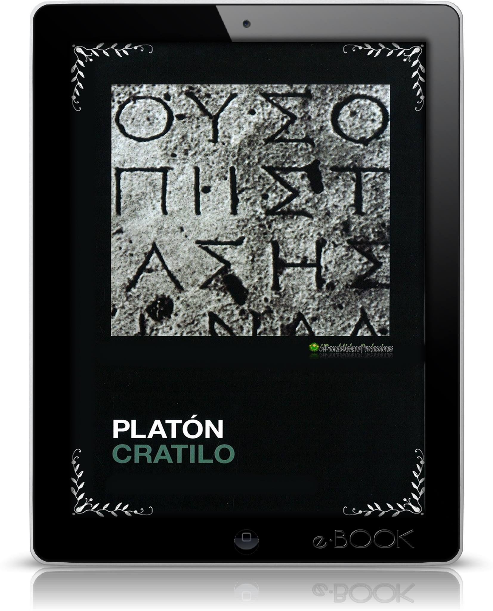 CRÁTILO l DIALOGO | PLATON l LIBRO DIGITAL | ☆LIBROS DIGITALES ...
