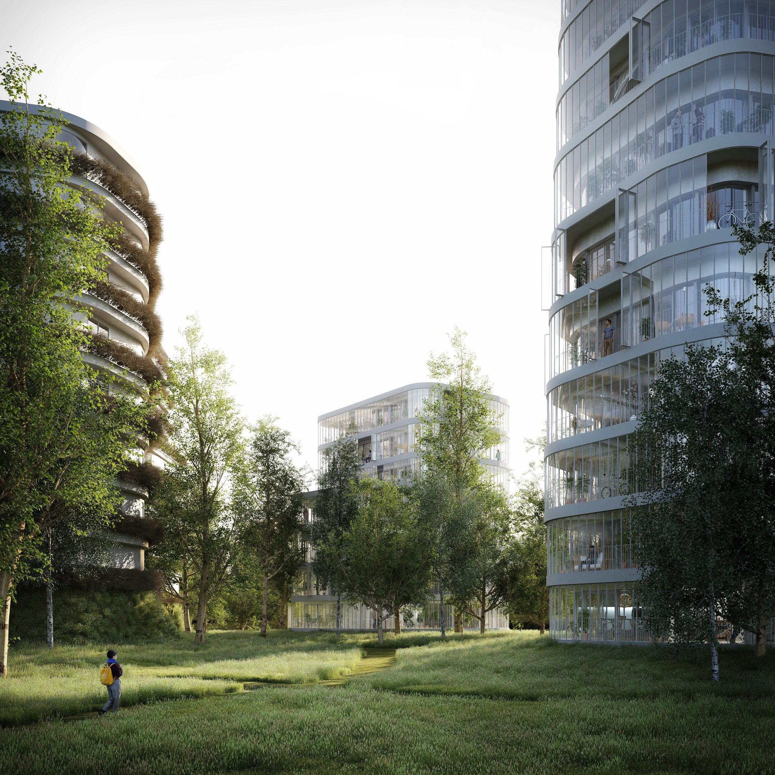 Stefano Boeri Architetti Wins petition for First Dutch Vertical Forest