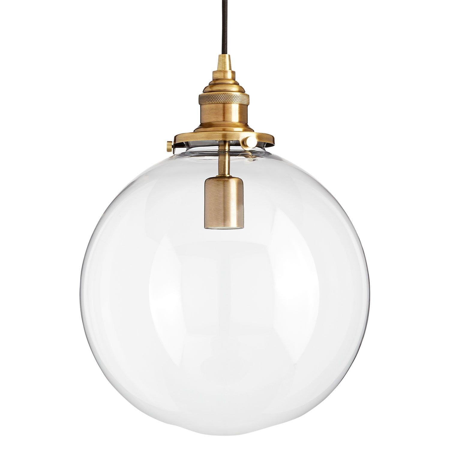 Orchard Pendant Light Single Light Clear Shade Chandeliers