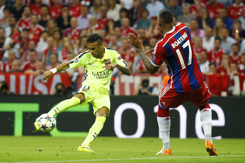 Neymar volea nivel Barca Neymar, Champions, La champions