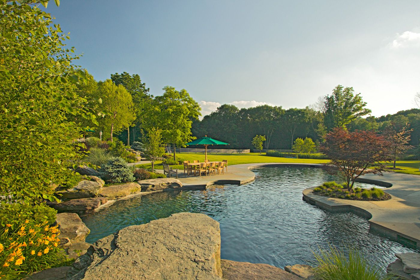Beautiful natural swimming pools in new jersey natural