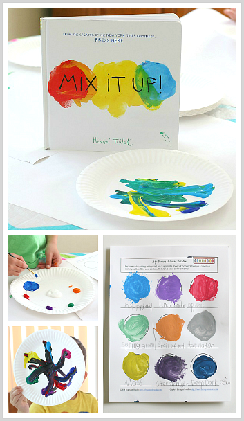 Mixing Colors Create and Name Your Own Colors Art for