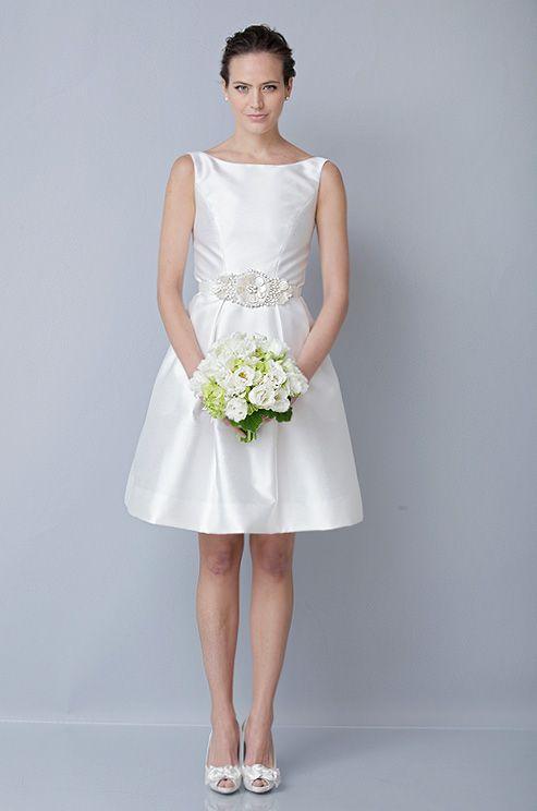 Theia short wedding dress, Fall 2012   Short Wedding Dresses ...