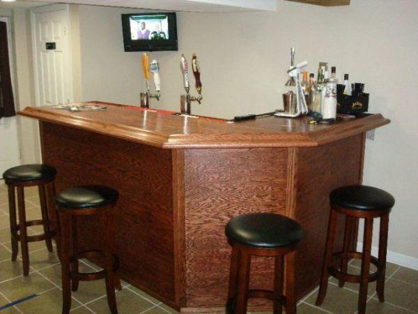 Home Bar In The Basement