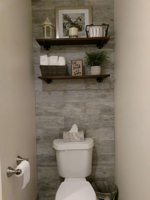 Guest Bathroom With Toilet Closet Makeover Casa Ideal