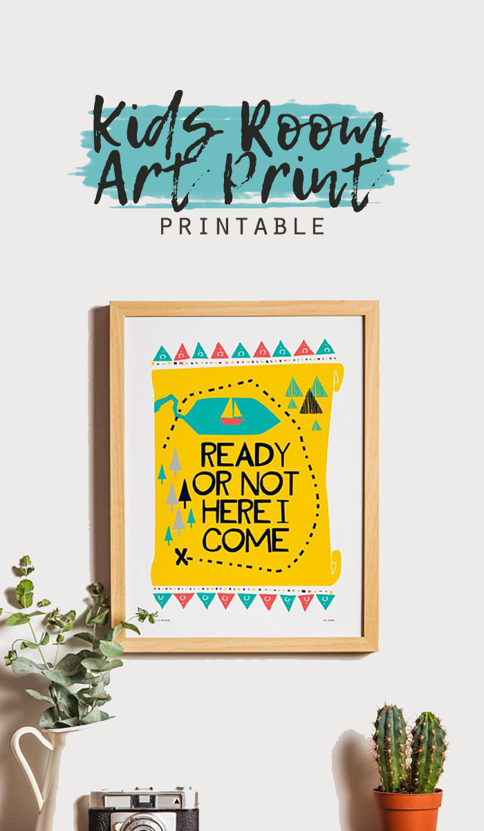 decorate your kid spaces with this Printable Wall Art!| kids ...