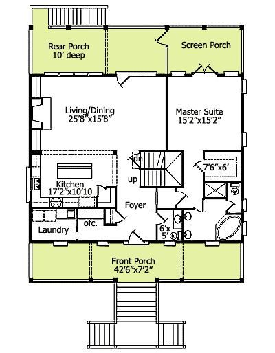 Classic Low Country Home Plan Low Country Homes Country House Plans House Plans