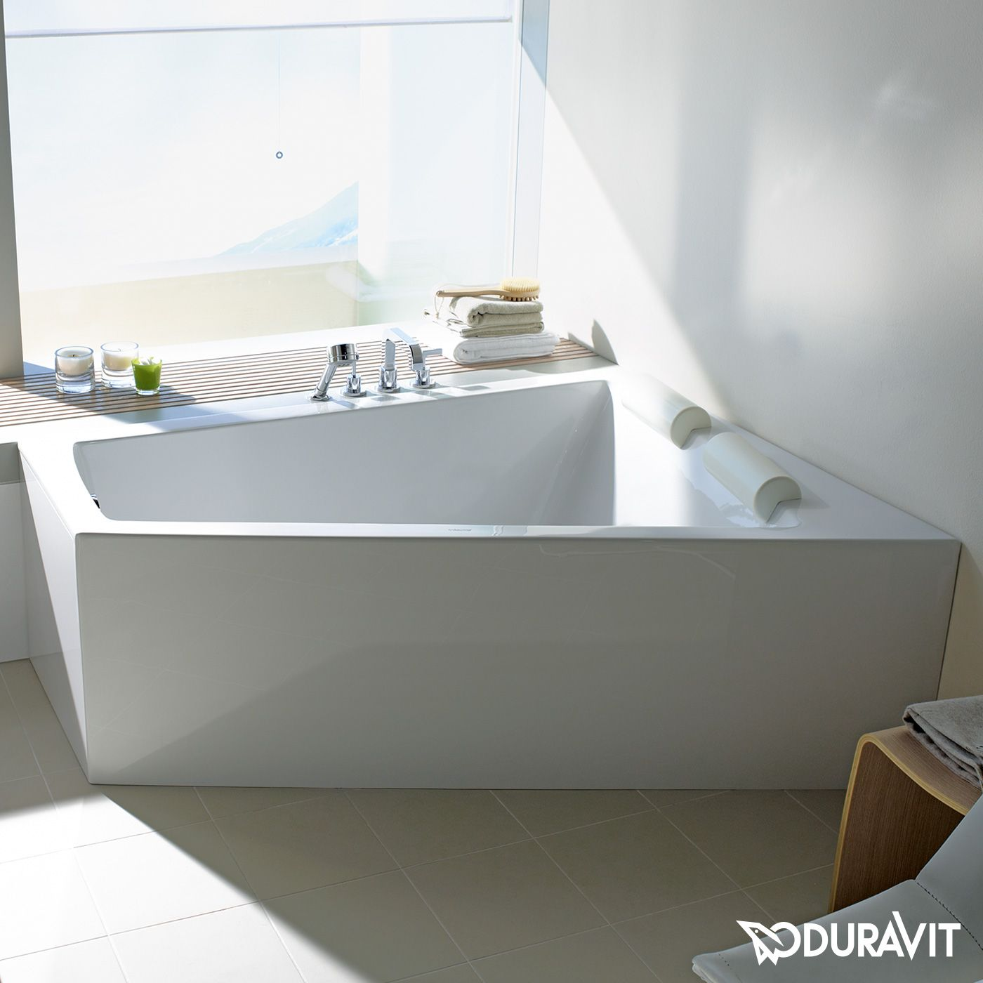Duravit Paiova #vasca | Creation of the master suite | Pinterest ...