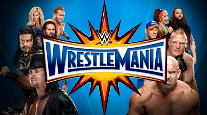 Watch Wwe Wrestlemania 33 4 2nd April 2016 4 2 2017 Full Show Replay Live Stream Online Free Event Wrestlemania 33 Dat Wrestlemania Wrestling Pay Per View