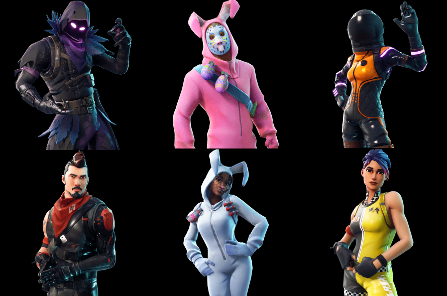 New Easter Themed Skins Found In Fortnite Update 3 4 S Files The Op Fortnite Skin Image
