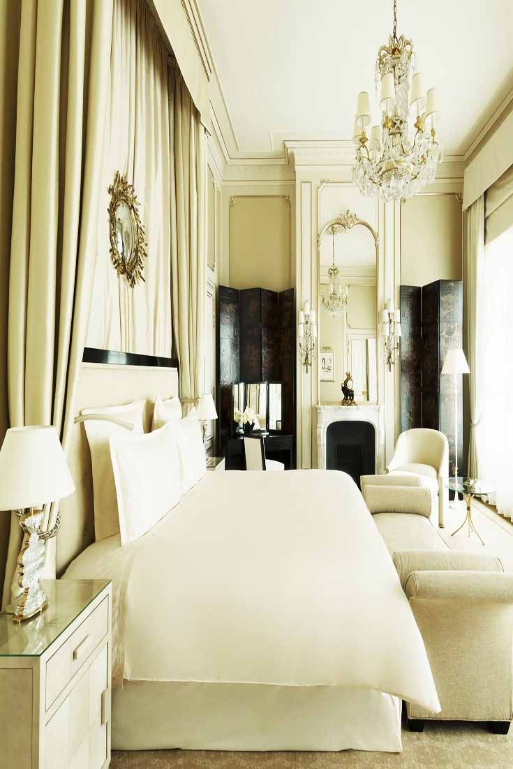 Let the coco chanel suite at ritz paris inspire your home for Hotel home decor