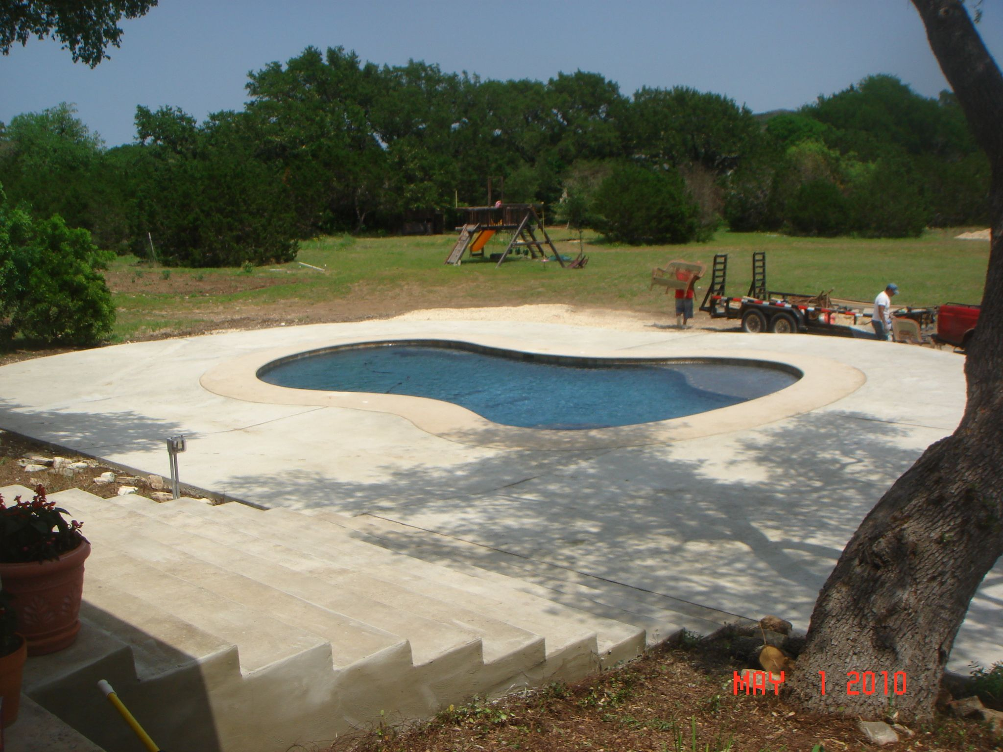 Pool Deck Resurfacing Our Work Easter Concrete Construction With ...