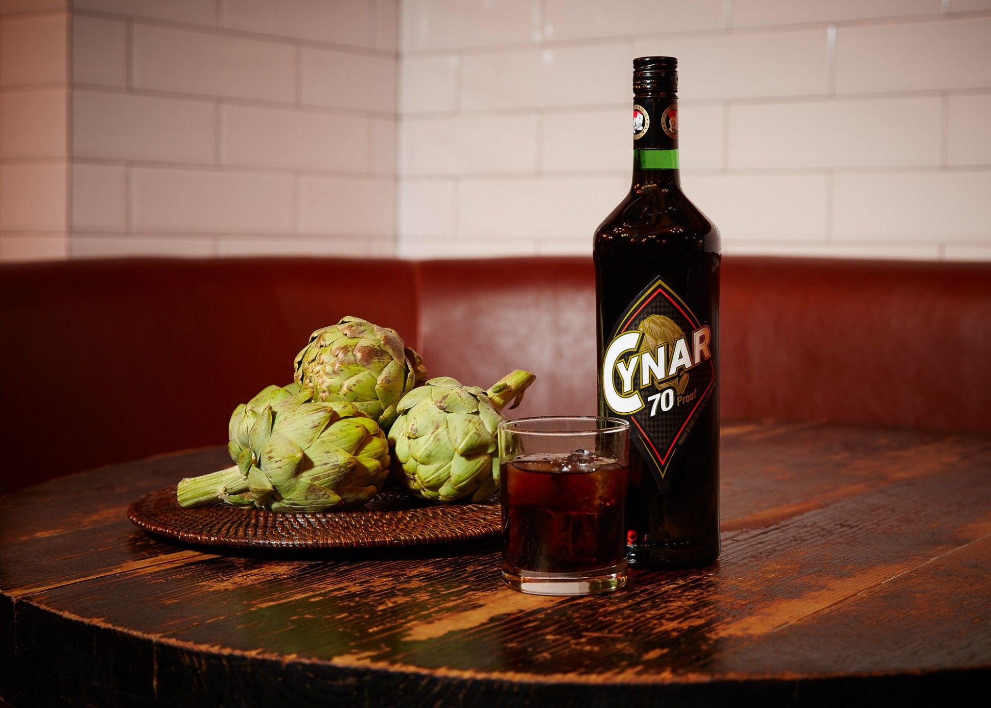 Cynar 70 Italy S Artichoke Amaro Goes High Proof Cocktail Enthusiast Drinks Cocktails