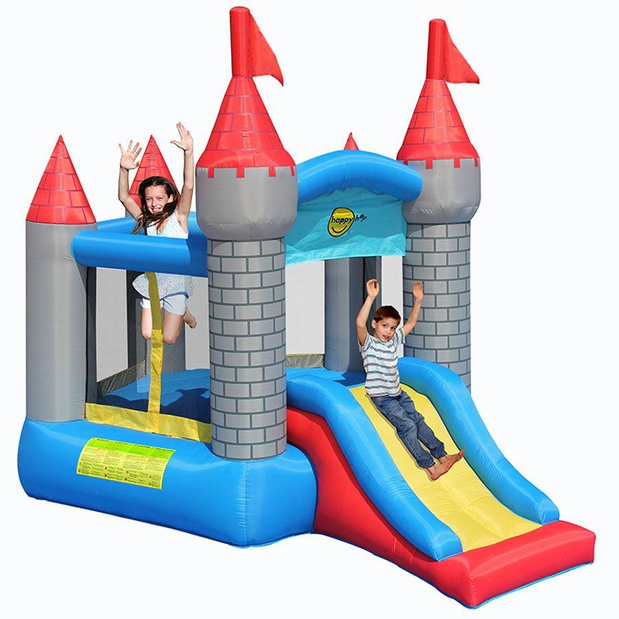 Happy Hop Pentagon Shaped Castle Slide Toys R Us Australia