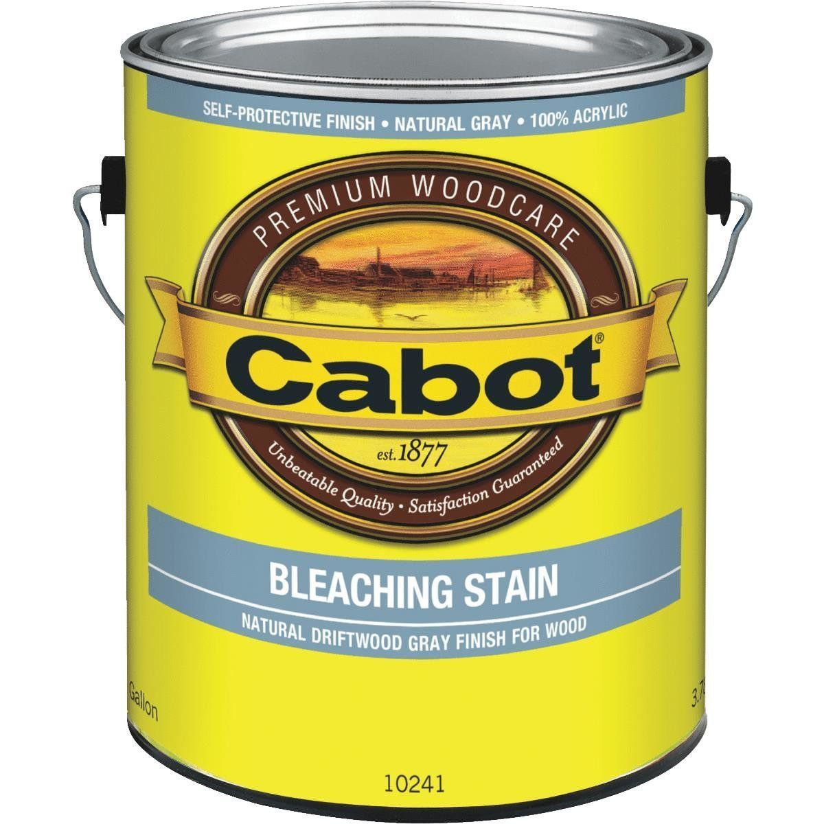 Cabot Weathered Look Exterior Bleaching Stain 140 0010241 007 Exterior Stain Staining Deck Solid Stain