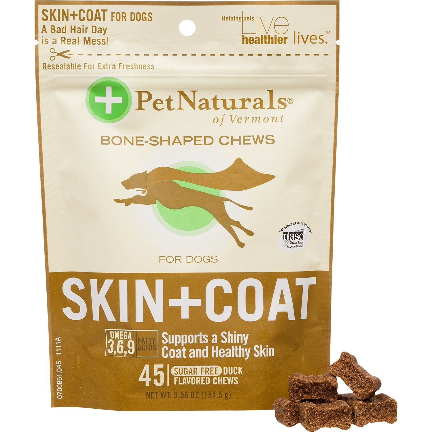 Pet+Naturals+Skin+++Coat+Soft+Chews+Dog+Supplements++Pack