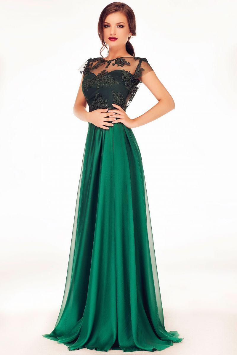Alege O Rochie De Seara Verde In 2019 Rochii Prom Dresses