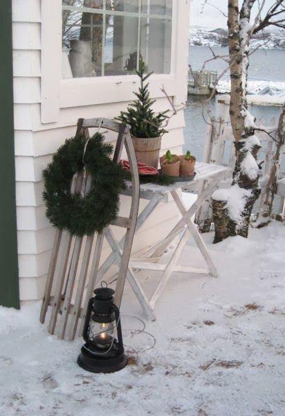 mache von einem alten schlitten die schnste weihnachtsdekoration nummer 6 ist wirklich fantastisch diy - Fantastisch Weihnachtsdeko