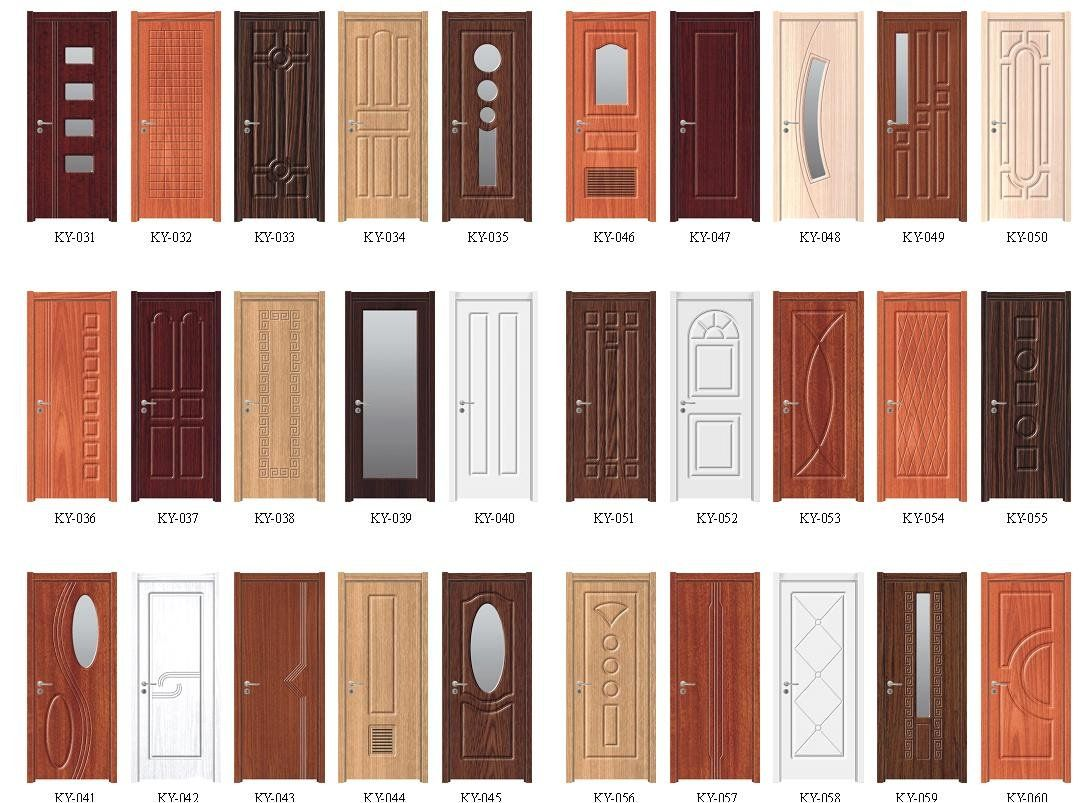 Internal doors glass door buy interior door glass for Different door designs