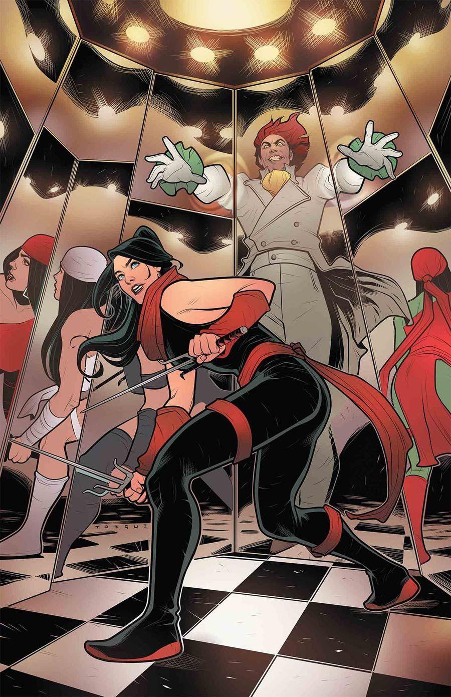 Elektra Vol 4 #3 Cover A Regular Elizabeth Torque Cover