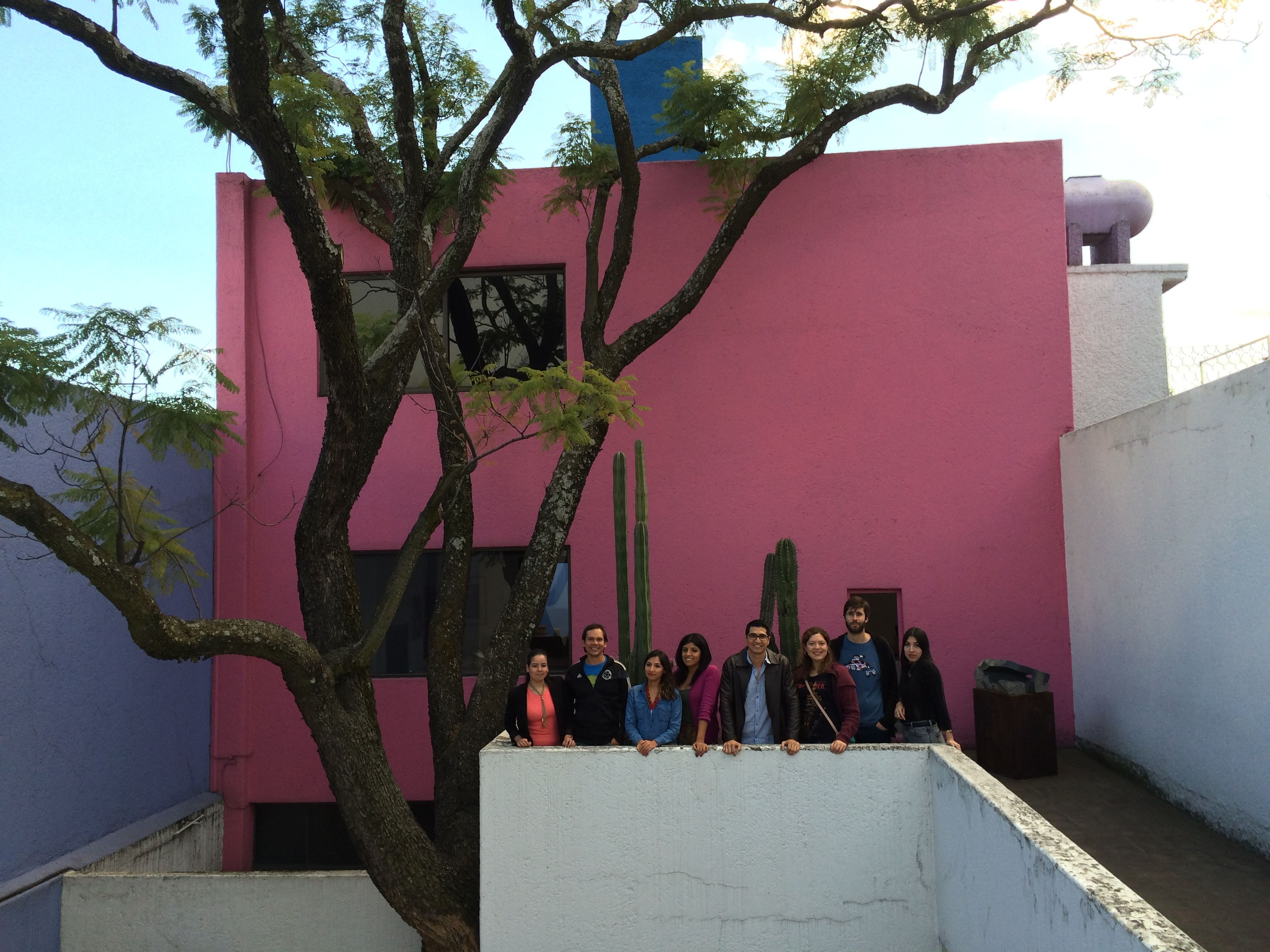 #WareMalcomb #Mexico team visited the Gilardi House designed by architect Luis Barragan. #architecture #design