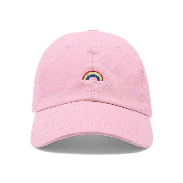 Forever21 City Hunter Rainbow Dad Cap ( 15) ❤ liked on Polyvore featuring  accessories e1803cd75a9