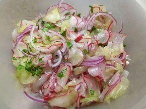 Radieschen - Gurken Salat von hobbykoechin | Chefkoch