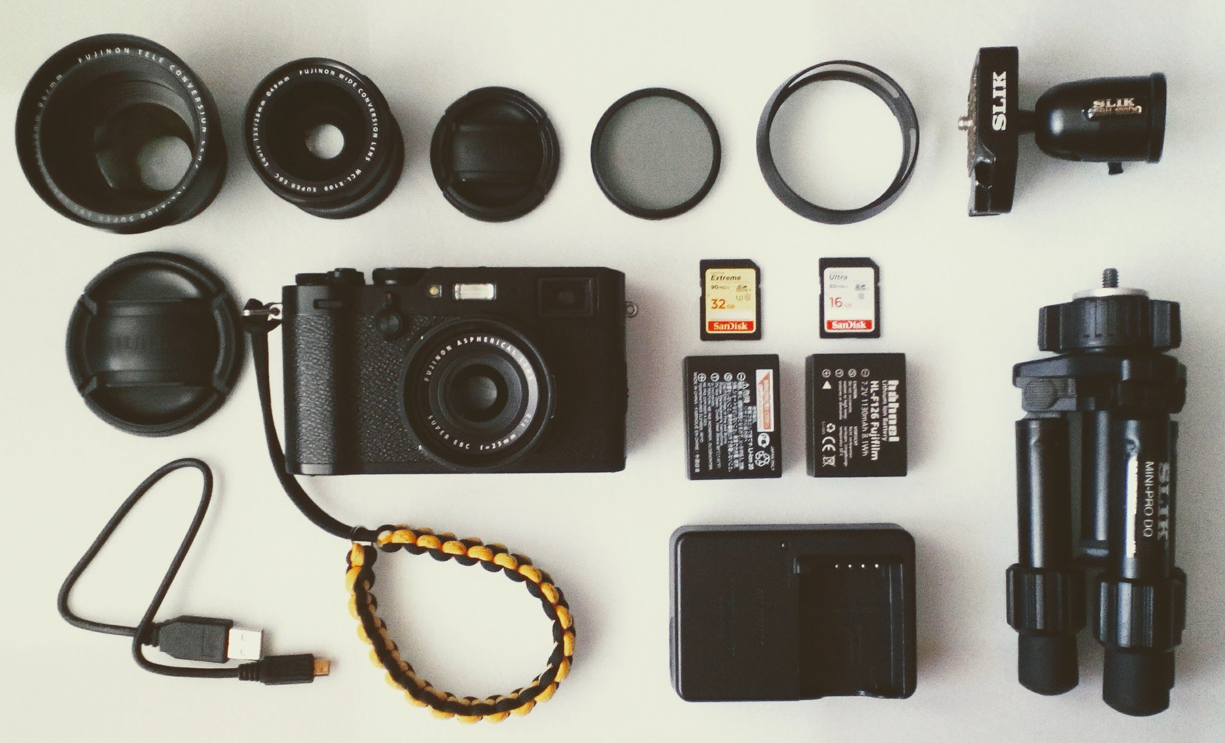 My travel kit