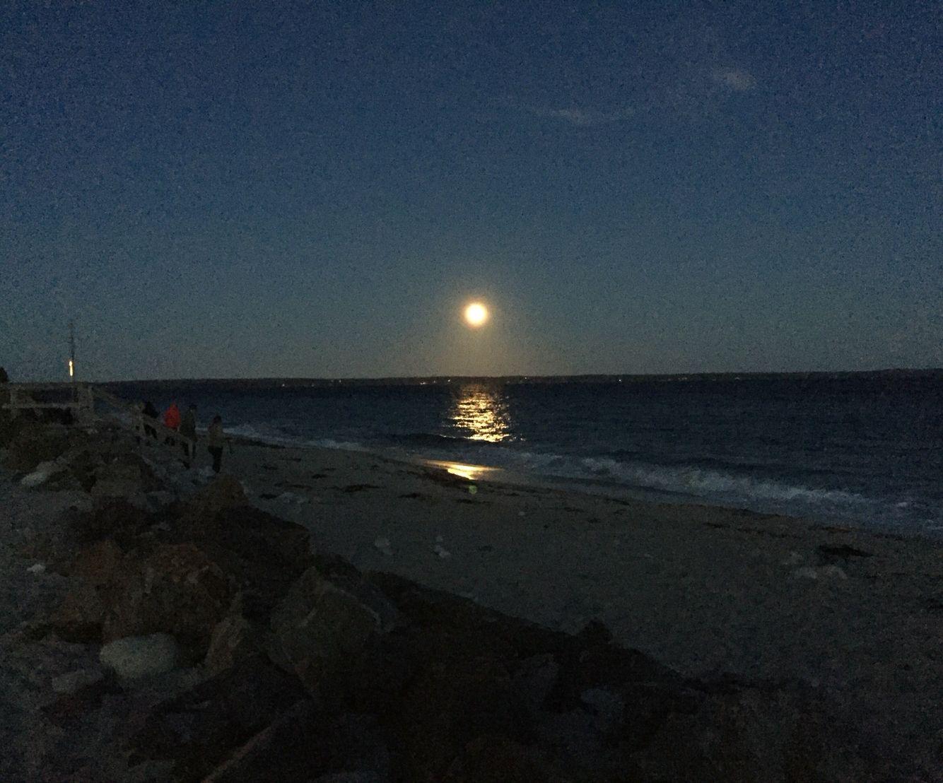 Queensland Beach, Nova Scotia #queensland #novascotia #beach #moon