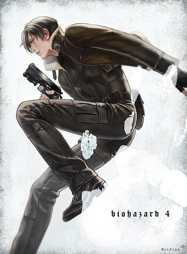 Biohazard Leon Scott Kennedy Resident Evil Leon Resident Evil