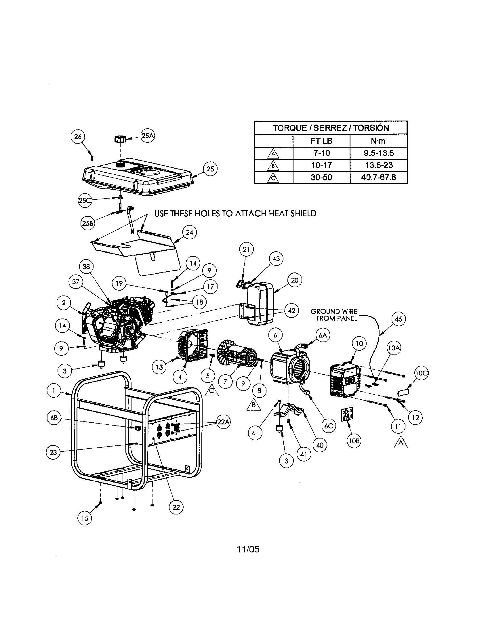 Coleman Powermate 5000 Parts Diagram Coleman Diagram Generation