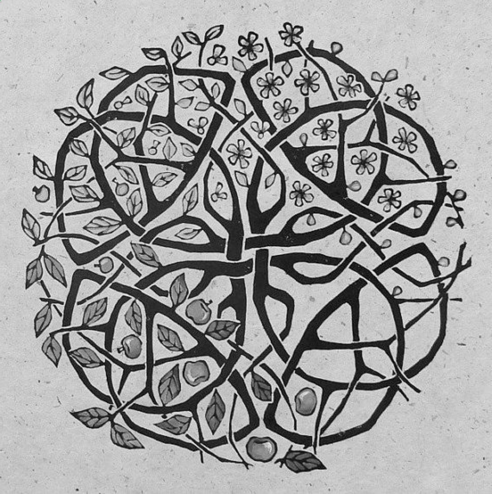 I am fascinated with Celtic knots, and find it
