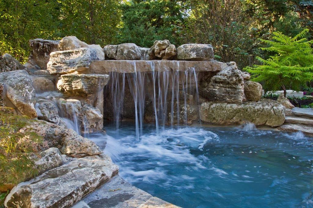 Arte y jardiner a empresa estanques y cascadas en el for Cascadas de agua artificiales para jardin