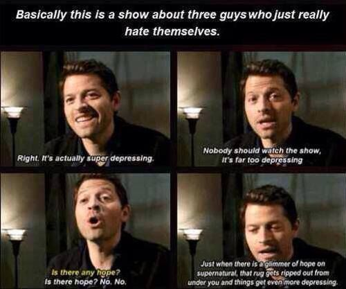 Castiel Funny Moments You're watching Supernatural