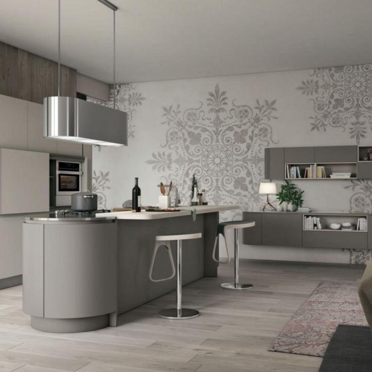 Modello Clover Cucine Moderne Interni Della Cucina Idee Per La Cucina