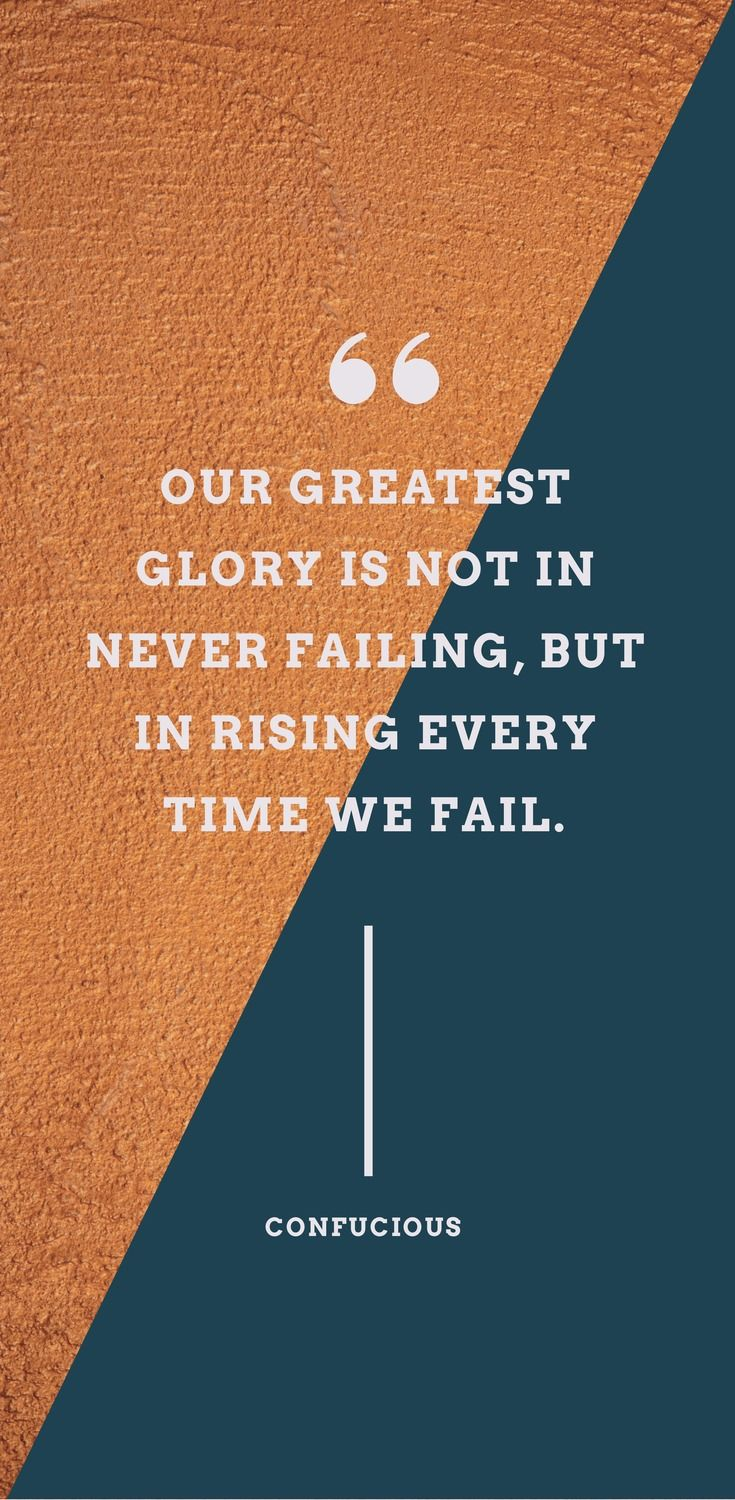 52 Inspirational Picture Quotes on Failure that will Make You Succeed (FREE Templates) - Easil