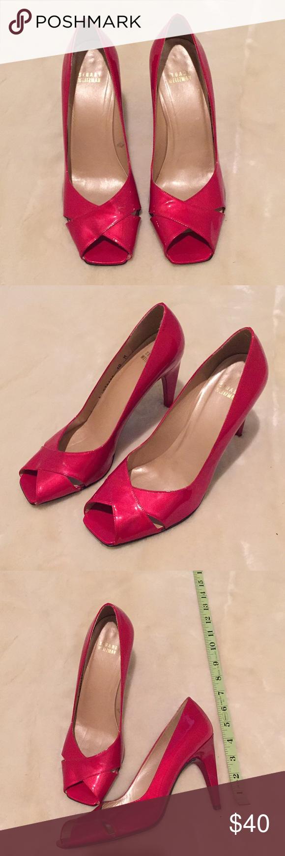 Stuart Weitzman Red Shoes 👠 in 2020