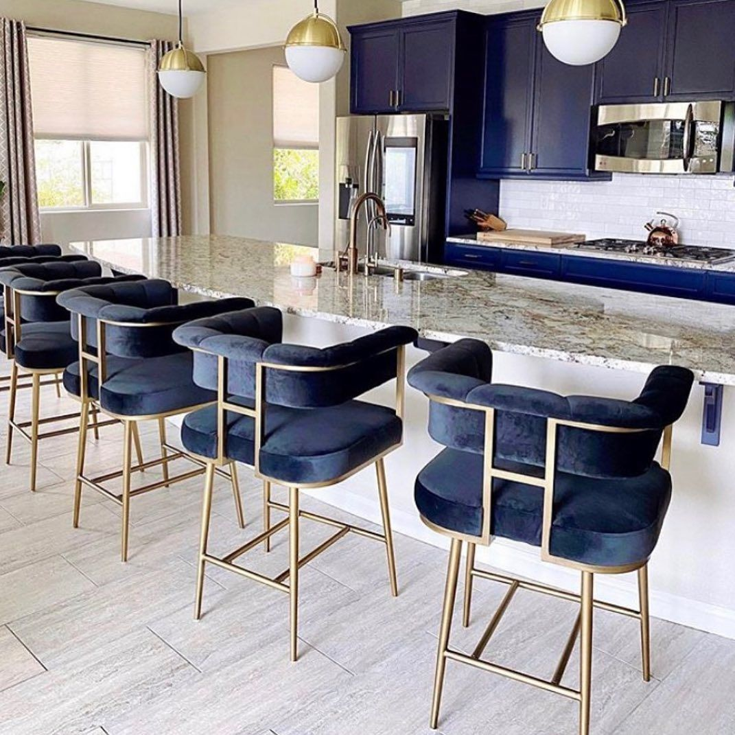 "Coco Furniture Gallery on Instagram: ""Trendy but comfy! Snag these barstools ♥️♥️ -  #realtor #realestatemiami #love #midtownmiami #interiordesign #southflorida #westpalmbeach…"""