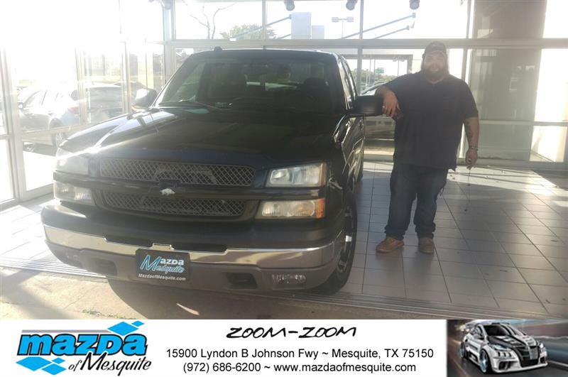 Happy Anniversary to Robert on your #Chevrolet #Silverado 1500 from Luis Quinones at Mazda of Mesquite!  https://deliverymaxx.com/DealerReviews.aspx?DealerCode=B979  #Anniversary #MazdaofMesquite
